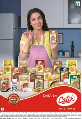 Catch Salts and Spices Ad