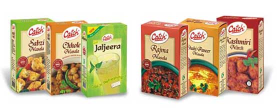 Catch Salts and Spices Packaging