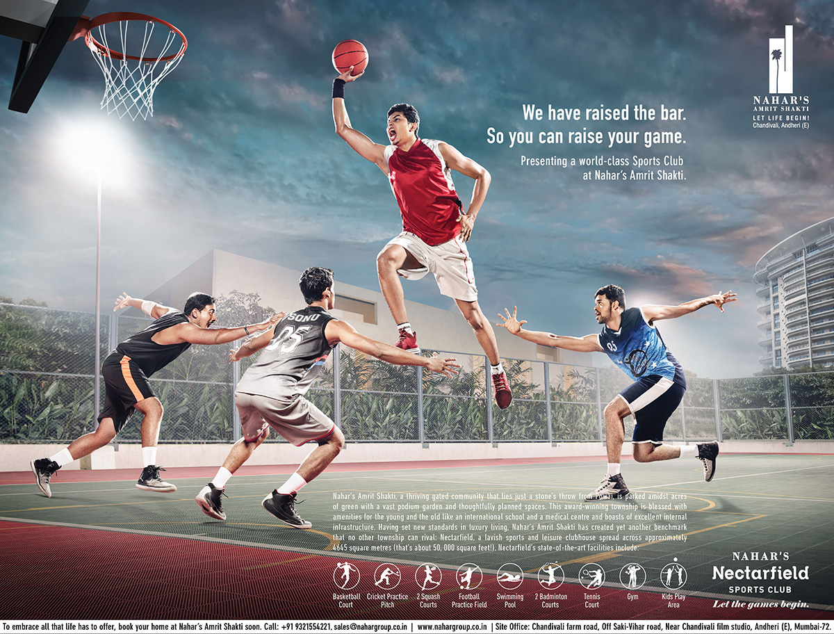 Nahar Group Basketball Ad