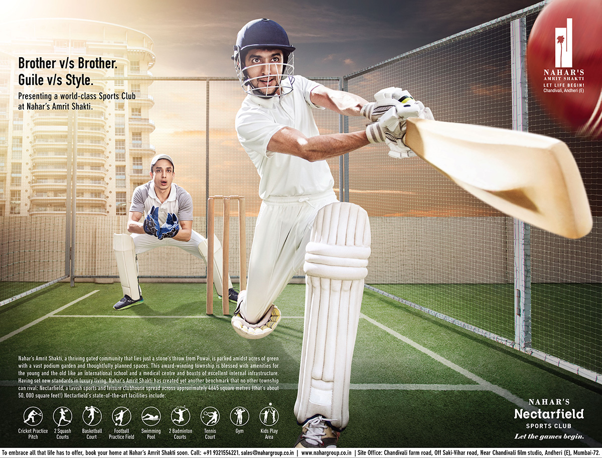 Nahar Group Cricket Ad