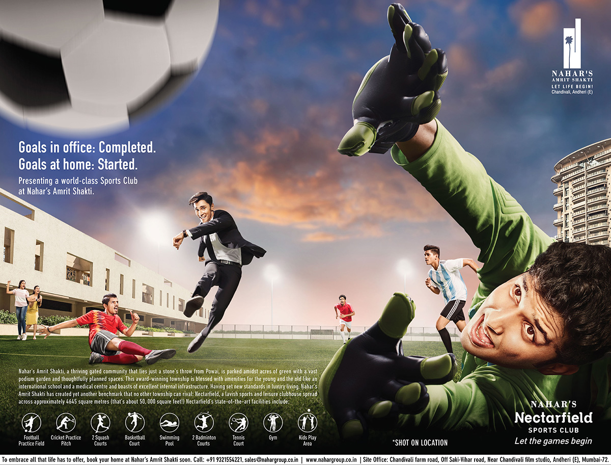 Nahar Group Football Ad