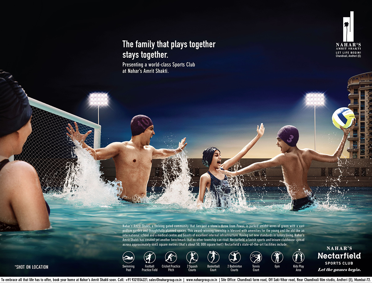 Nahar Group Water Polo Ad