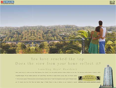 Royal residency ad campaign