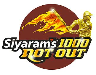 100 Not Out Logo